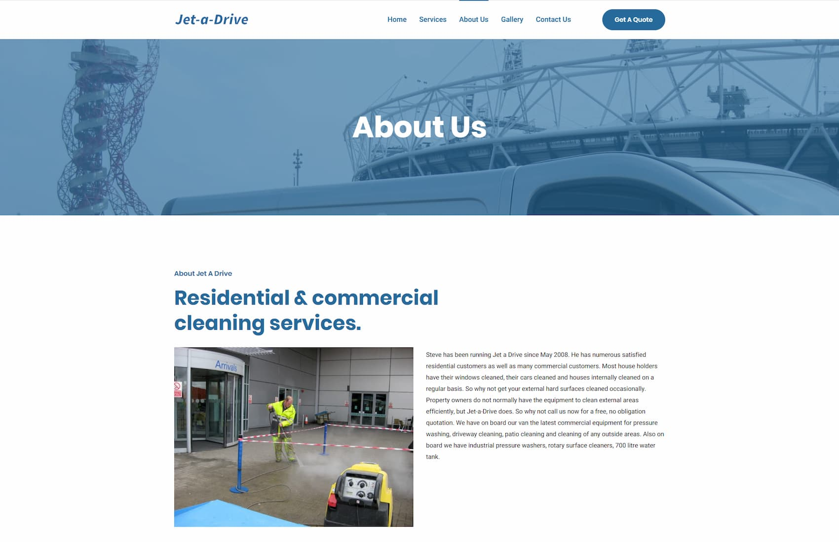 jet a drive about us page